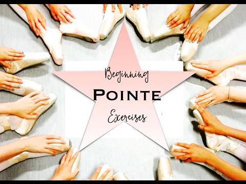 Beginning Pointe Exercises