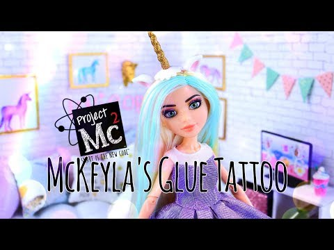 Unbox Daily: Project MC2 | McKeyla's Glue Tattoo PLUS Science Experiment!