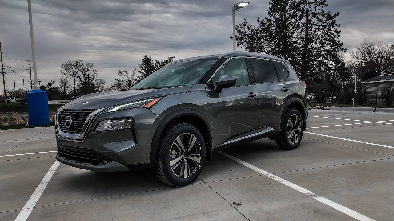 All NEW 2021 Nissan Rogue SL REVIEW