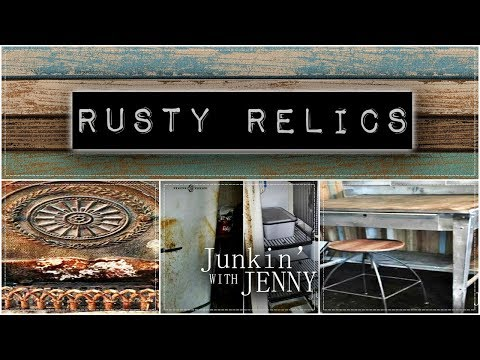 Rusty Relics   Junkin' With Jenny Podcast