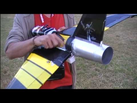90MM Homemade EDF JET Maiden 8S FF- WASP Part 3