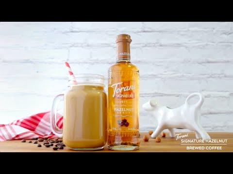 Torani Signature Hazelnut Brewed Coffee
