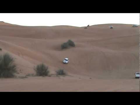 How to drive on high sand dunes - Dubai Desert
