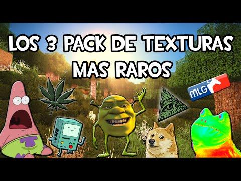 Minecraft 1.8 - LOS 3 PACKS DE TEXTURAS MAS RAROS QUE HE VISTO! (con Link de Descarga)