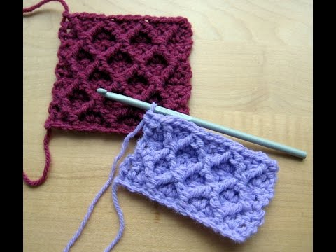 Easy Crochet Stitches - Single Crochet Stitch