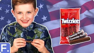 Irish Kids Try American Snacks