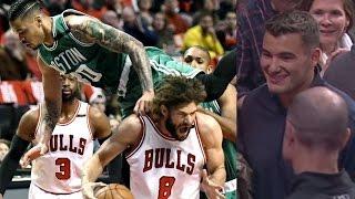 Bulls Fans Boo Mitchell Trubisky! Celtics Win 4 Straight! Celtics Bulls Game 6