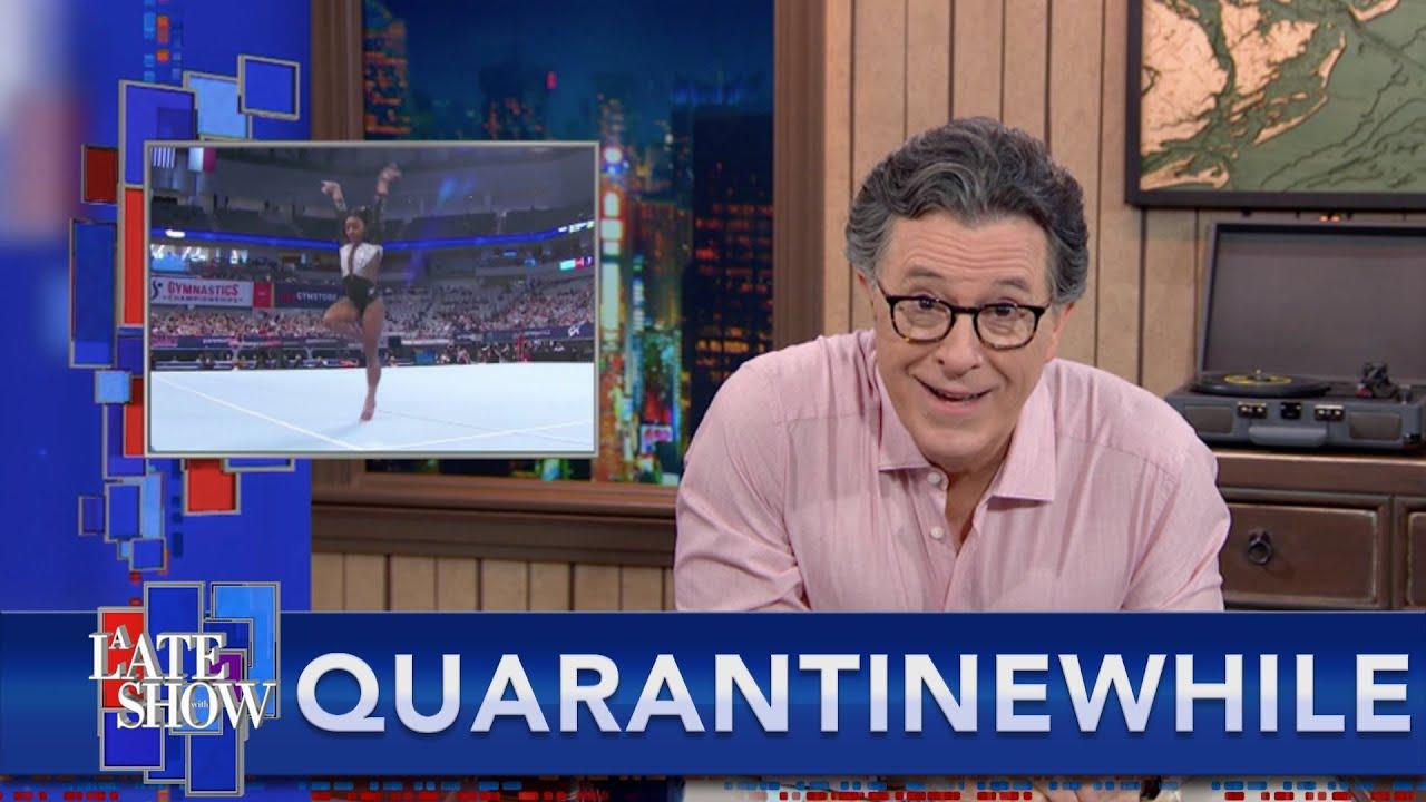 Quarantinewhile... Simone Biles Is A Pure Delight
