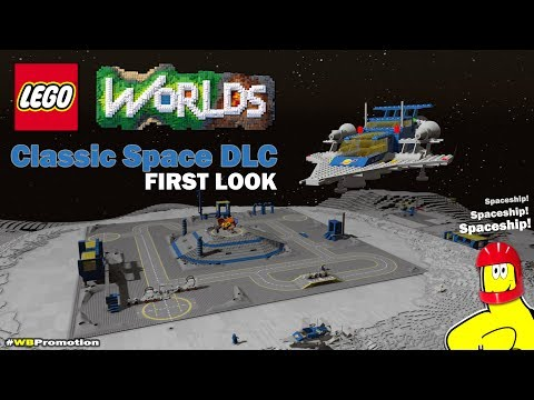 Lego Worlds: Classic Space DLC FIRST LOOK - HTG