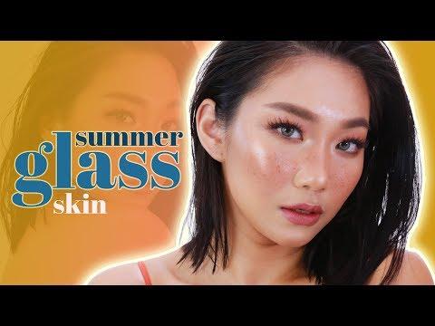 SUMMER GLOW + GLASS SKIN Makeup Look   Raiza Contawi