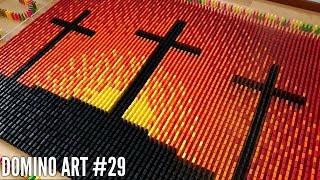 Happy Easter! - 5,000 Dominoes | Domino Art #29