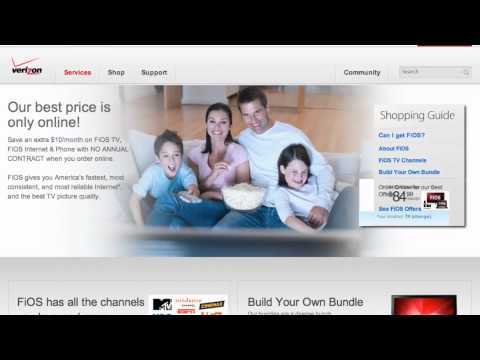 Verizon FiOS Coupon Code 2013 - How to use Promo Codes and Coupons for Verizon.com