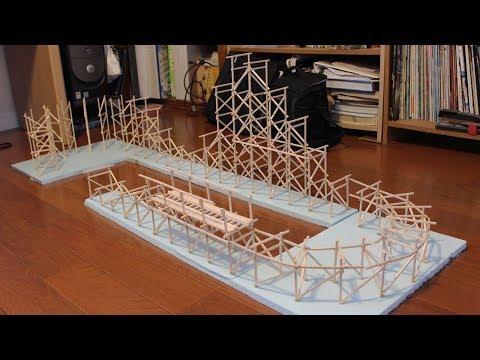 I'm Building a Model Roller Coaster - Part 2