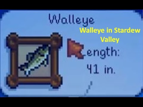 Walleye: Stardew Valley Tips and Tricks