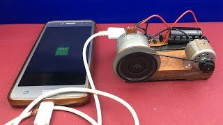 DIY Free Energy Generator Experiments - How to Make Mobile