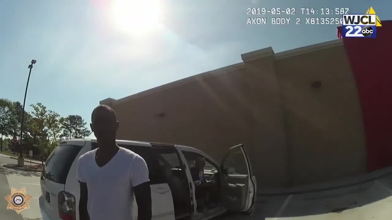 WATCH: Expired tag leads to Georgia police pursuit