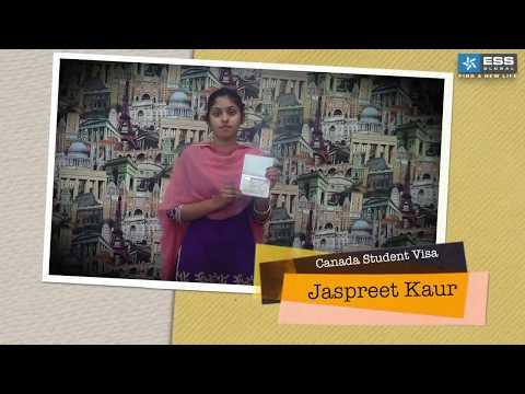 Success Stories - Jaspreet kaur - Canada Student Visa