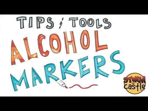 Tips & Tools: Alcohol Markers