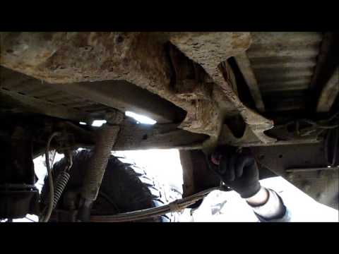 Ford Ranger / Mazda B2500 rear suspension lift fitting longer shackles in REAL TIME