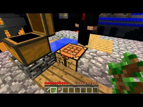 TG4 The Great 4 Ep2 Beautiful Sapling Efficient Tree Farm Slab - Minecraft Mods Skyblock Map