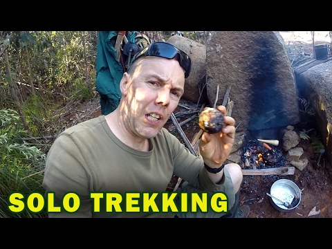 Solo Trekking Adventure, Caveman Cooking Techniques
