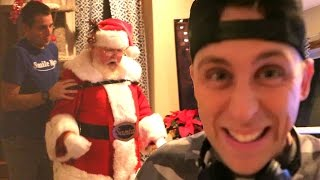 WE CAUGHT SANTA!! My New Prank! Behind the Scenes