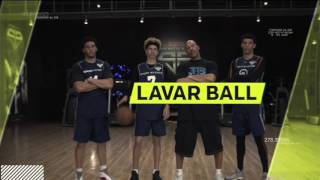 Lonzo Ball can pass a basketball through a moving SUV..