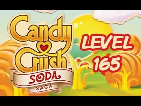 Candy Crush Soda Saga Level 165