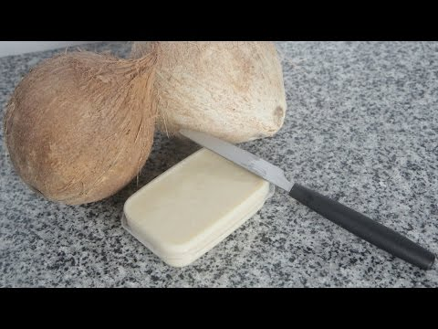 Homemade Coconut Butter - Dried Coconut Flakes