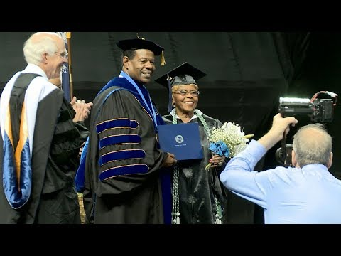92-Year-Old SC Woman Earns College Diploma