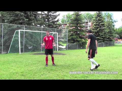 Soccer Defending Tips & Tutorial: Tackling