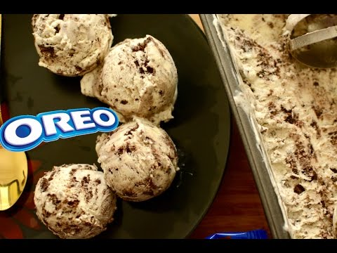 How to Make Oreo Ice Cream at Home(Only 3 Ingredients!) | No Eggs No Ice Cream Machine