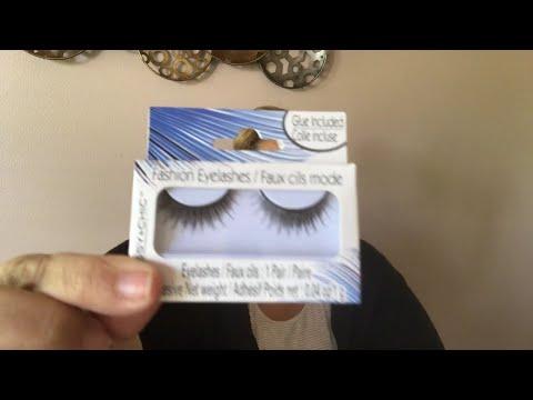 Dollar Tree $1 False Eyelashes - DIY - How to make them Luxurious and Natural