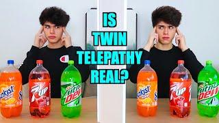 REAL TWIN TELEPATHY TEST