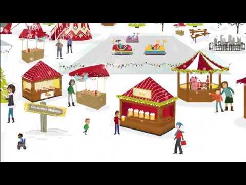 FOR CARDIFF Christmas Cardiff Winter Wonderland TV ad