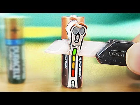 5 EASY WAYS TO REUSE OLD BATTERY