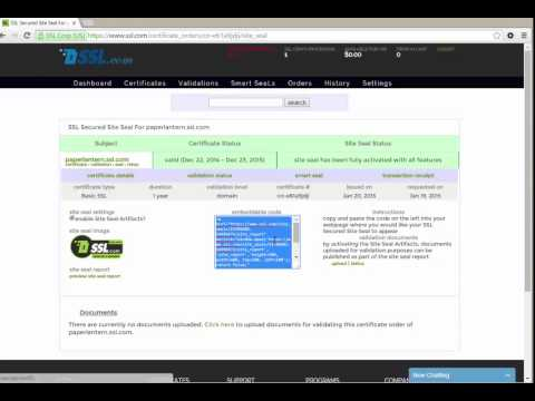 How to Enable The SSL.com Site Seal