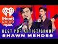 Shawn Mendes Wins Best Pop Artist or Group   2018 iHeartRadio MMVA