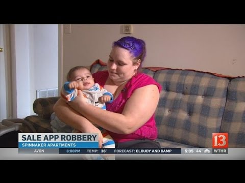 Mom with baby robbed during OfferUp exchange