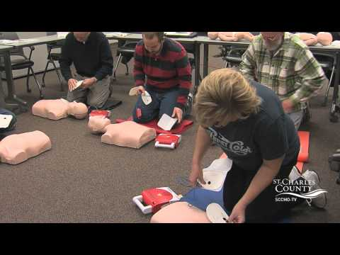 CPR Certification Class - St. Charles County Government, MO
