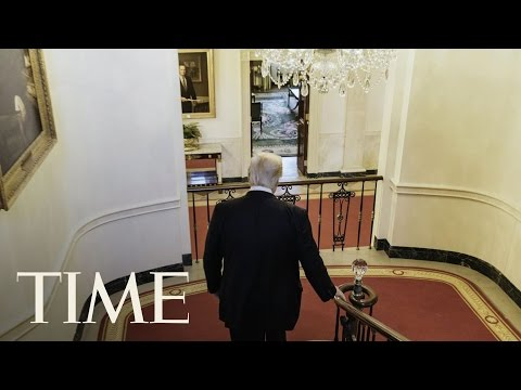 President Trump After Hours: Inside Trump's Guided Tour Of The White House & Residence | TIME