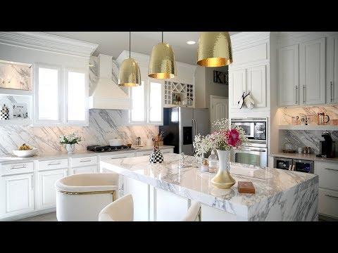 All White Kitchen Reveal  - MissLizHeart