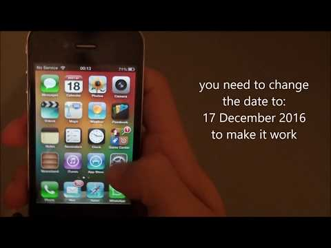 How to download and Activate whatsapp on IOS 6.1.3 2017