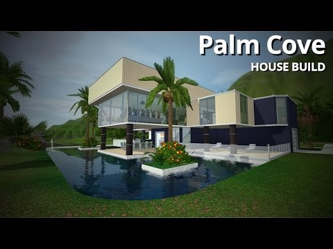 The Sims 3 House Building - Palm Cove (w/ Simified)