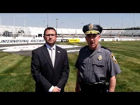 Henrico Police Division & Richmond International Raceway Public Service Announcement