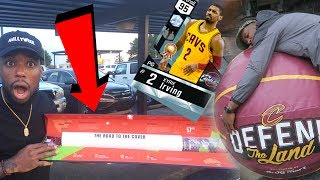NBA 2k18 ROAD TO THE COVER KIT! GIVING AWAY DIAMOND KYRIE CODES IN CLEVELAND GAME 3!
