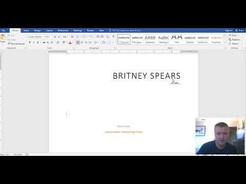 Writing an APA Research Paper