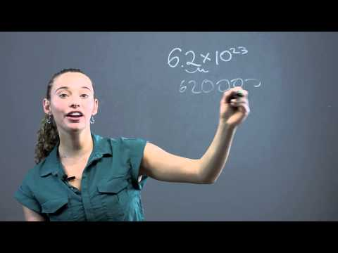 How to Make a Decimal Into Standard Form : Math Questions & Answers
