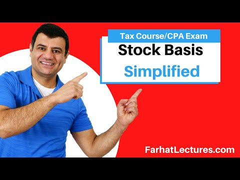 Stock Basis | Corporate Income Tax | CPA REG | Ch 22 P 4