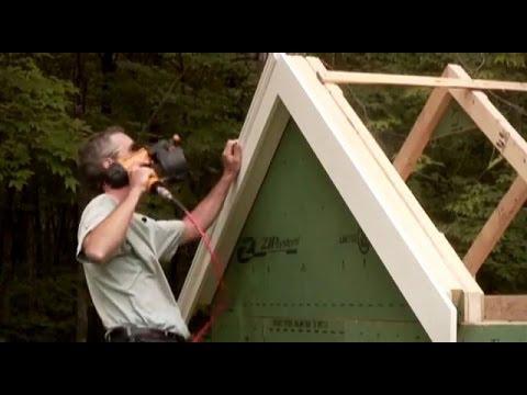 Installing shed trim
